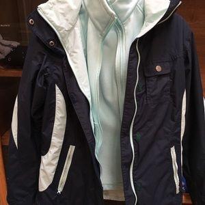 Columbia Sportswear Omnitech Jacket with Lining
